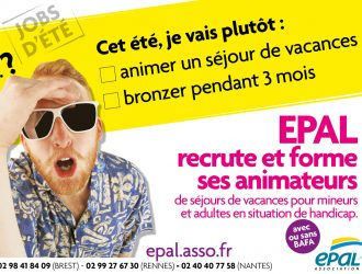 EPAL recrute et forme ses animateurs