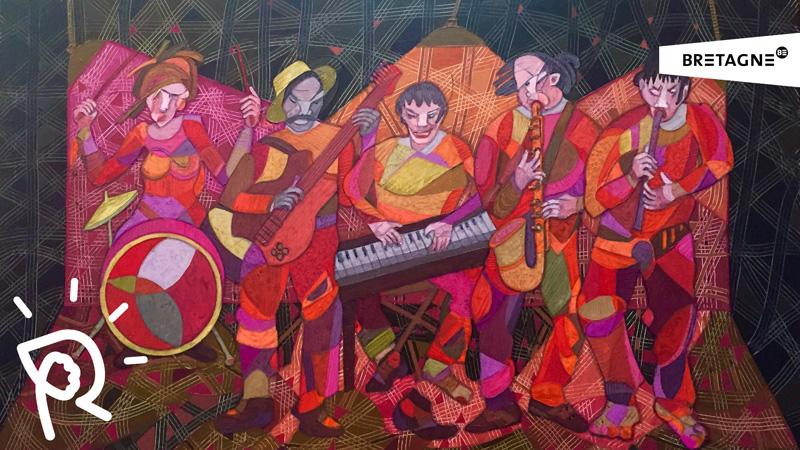 Julio CARRASCO BRETON, le sillon de la couleur