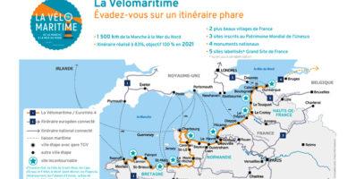 La Vélomaritime®, l'itinéraire français de l'EuroVelo 4