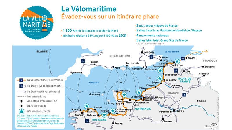 La Vélomaritime, évadez-vous sur un itinéraire phare