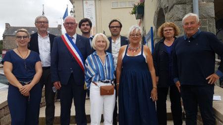 Le Maire d'Erquy et ses 8 adjoints