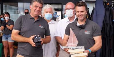 Voile : Francis Ferrari et Frédéric Moreau remportent la Costarmoricaine