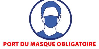 Port du masque obligatoire sur les Côtes d'Armor
