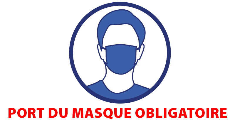 Port du masque obligatoire – Erquy, site officiel de la Mairie