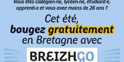 Gratuité BreizhGo Jeunes