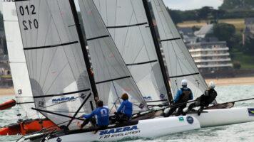 Nicolas Touchot et Alexandre Hamel remportent la Costarmoricaine