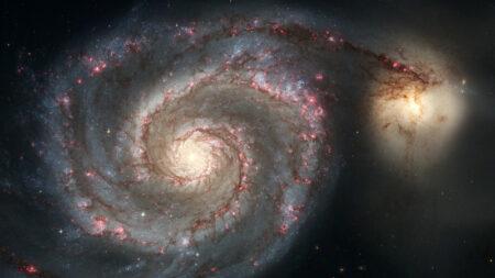 La galaxie des Chiens de chasse. © Nasa/ESA