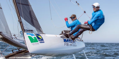 Voile : Benoît Champanhac et Hugo Dhallenne champions du monde des raids à Erquy